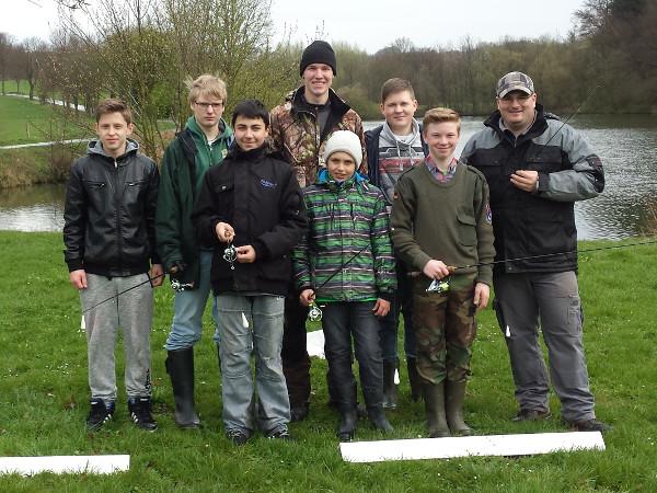 Die Jungendgruppe des ASV Neuenheerse 2016