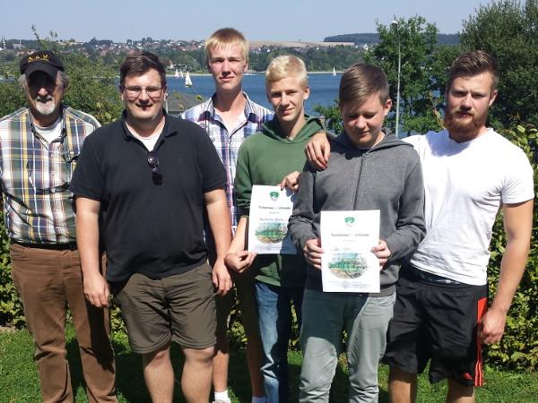 Jugendgruppe ASV Neuenheerse 2015 Möhnesee